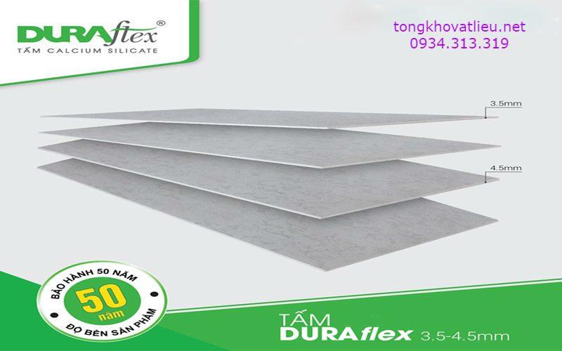 11 - Tấm Duraflex Làm Sàn, Trần, Tường, Vách Ngăn Giá Rẻ Bảo Hành 50 Năm