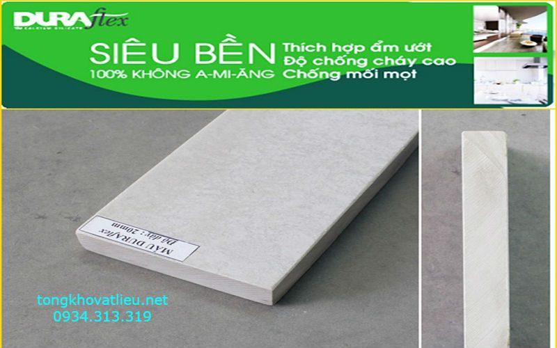12 - Tấm Duraflex Làm Sàn, Trần, Tường, Vách Ngăn Giá Rẻ Bảo Hành 50 Năm