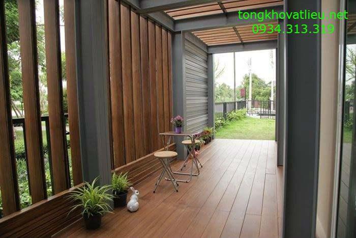 34 - Sàn Gỗ Ngoài Trời Smartwood vật liệu mới cho không gian ngoại thất