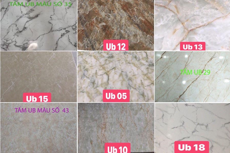 PVC HX - Báo giá tấm PVC vân đá   Tấm nhựa giả đá sỉ lẻ rẻ nhất HCM