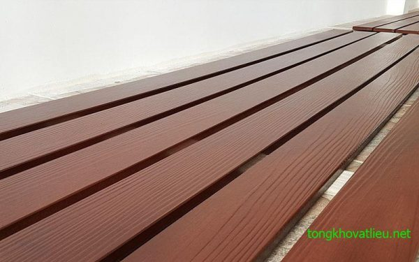 go nhan tao Smartwood SCG 3 600x375 - Giá gỗ nhân tạo smartwood SCG ốp tường, trần, lót sàn, sỉ và lẻ rẻ nhất 2021