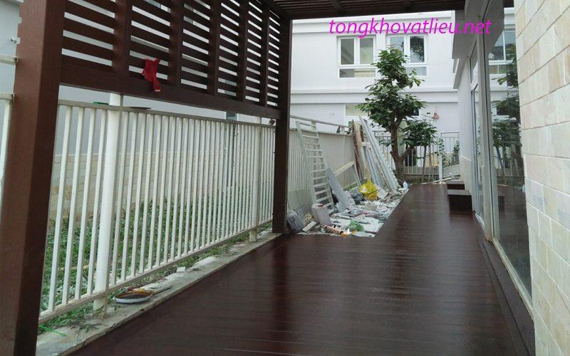 sàn 1 - Sàn Gỗ Ngoài Trời Smartwood vật liệu mới cho không gian ngoại thất