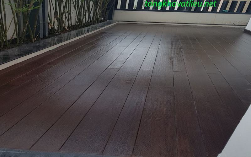 sàn 7 - Sàn Gỗ Ngoài Trời Smartwood vật liệu mới cho không gian ngoại thất