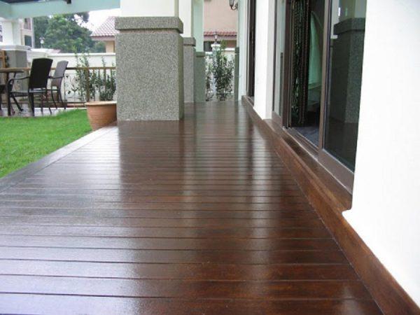 san go ngoai troi 5 600x450 - Sàn Gỗ Ngoài Trời Smartwood vật liệu mới cho không gian ngoại thất