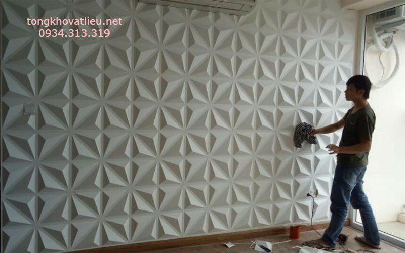 10 1 - Tấm ốp tường 3d-Tấm ốp nhựa 3D-Chất lượng- Giá rẻ tại TP-HCM