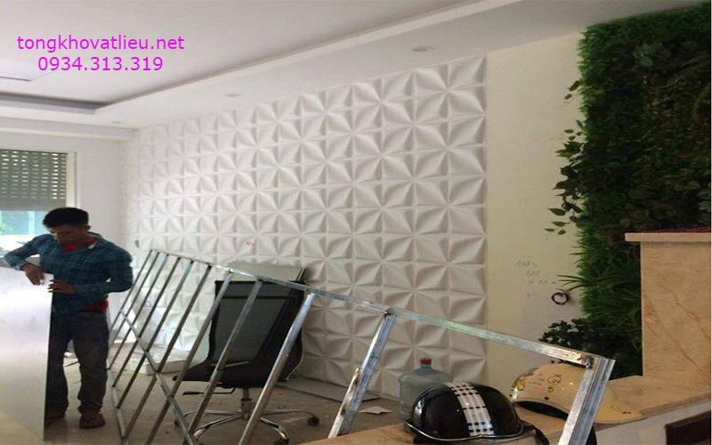 2 1 - Tấm ốp tường 3d-Tấm ốp nhựa 3D-Chất lượng- Giá rẻ tại TP-HCM