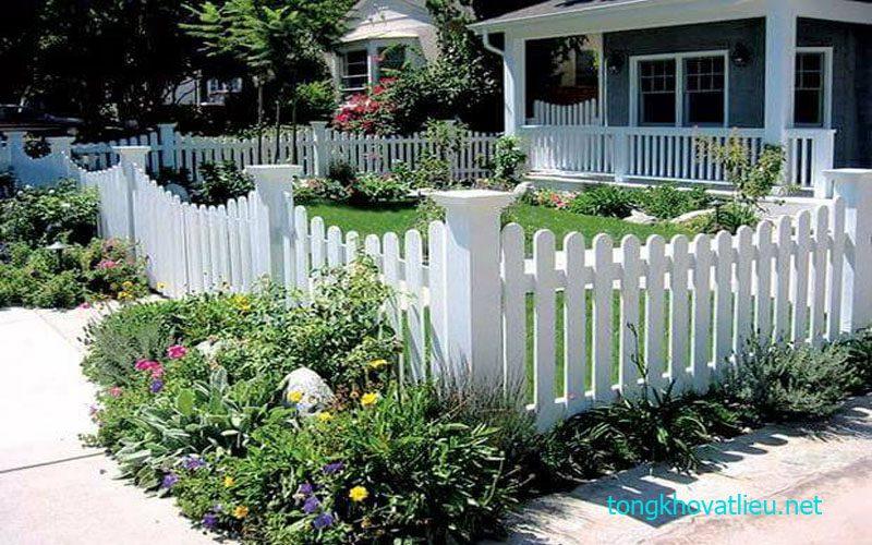 3b - Hàng Rào Gỗ nhân tạo Smartwood thái lan– Bền Mãi Cùng Thời Gian