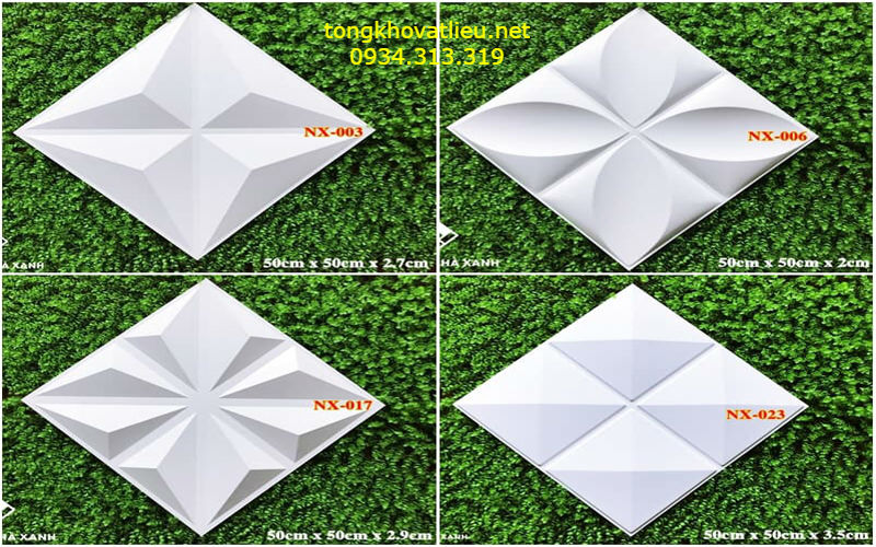4 4 - Tấm ốp tường 3d-Tấm ốp nhựa 3D-Chất lượng- Giá rẻ tại TP-HCM