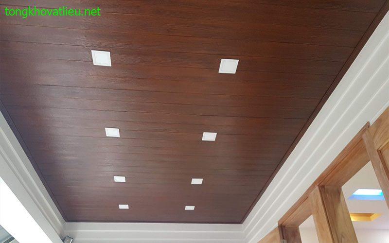 4c - Gỗ Ốp Trần Nhà Smartwood Thái Lan Tuyệt Đẹp Giá Rẻ Cho Mọi nhà