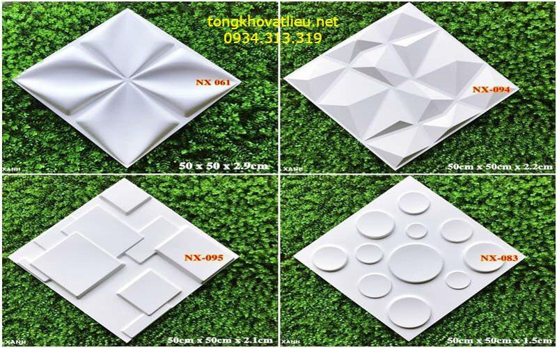 5 - Tấm ốp tường 3d-Tấm ốp nhựa 3D-Chất lượng- Giá rẻ tại TP-HCM