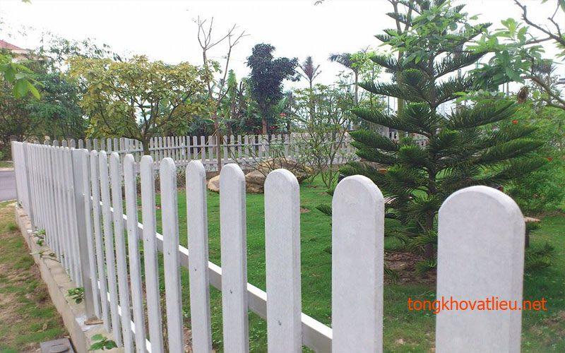 7b - Hàng Rào Gỗ nhân tạo Smartwood thái lan– Bền Mãi Cùng Thời Gian