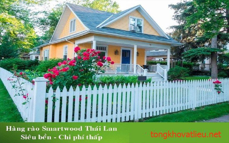 9b - Hàng Rào Gỗ nhân tạo Smartwood thái lan– Bền Mãi Cùng Thời Gian