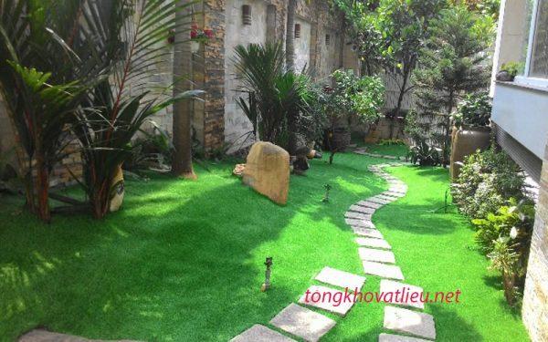 a13 600x375 - Cỏ nhân tạo trí ốp tường – Thảm cỏ nhân tạo lót sàn giá rẻ tại Tphcm và trên toàn quốc