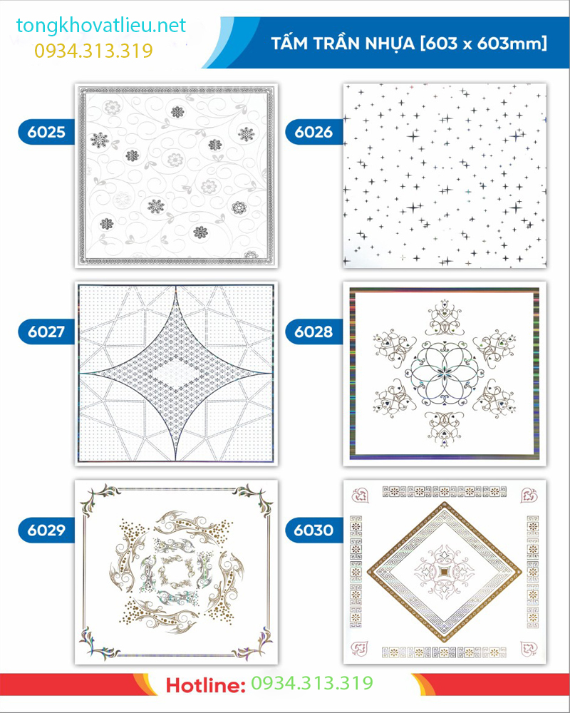 2 - Báo giá tấm trần nhựa PVC | Tấm trần nhựa moolar thái lan giả sỉ lẻ rẻ nhất