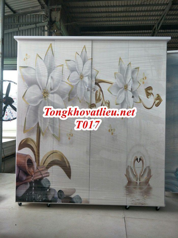T017 - Tủ Nhựa Đài Loan Cao Cấp| Chống Ẩm Mốc, Mối Mọt| Cơ Sở Sản Xuất Tại Bến Tre