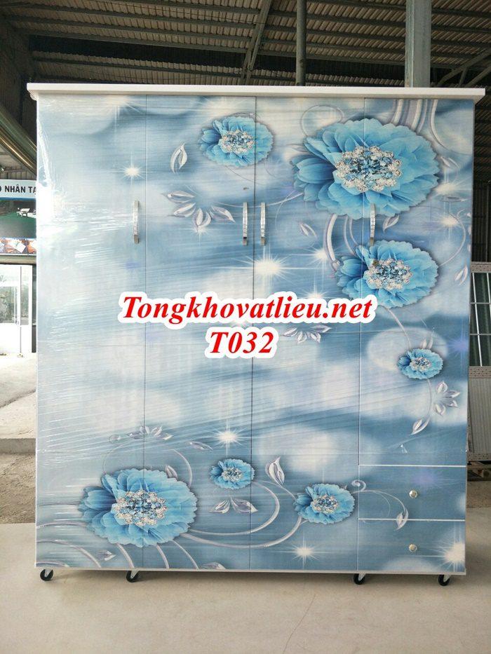 T032 - Tủ Nhựa Đài Loan Cao Cấp| Chống Ẩm Mốc, Mối Mọt| Cơ Sở Sản Xuất Tại Bến Tre