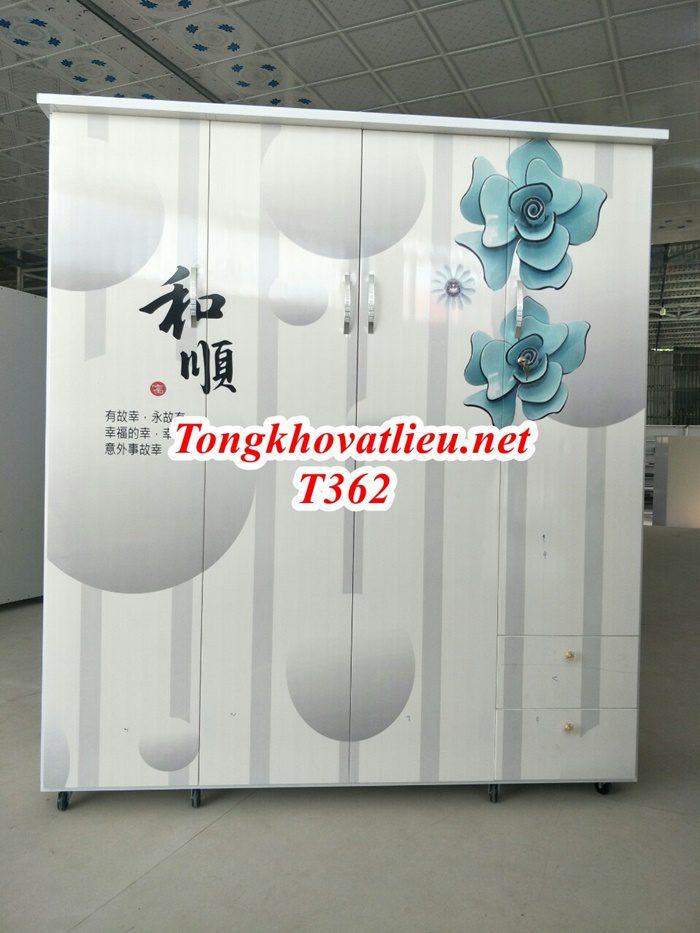 T362 - Tủ Nhựa Đài Loan Cao Cấp| Chống Ẩm Mốc, Mối Mọt| Cơ Sở Sản Xuất Tại Bến Tre