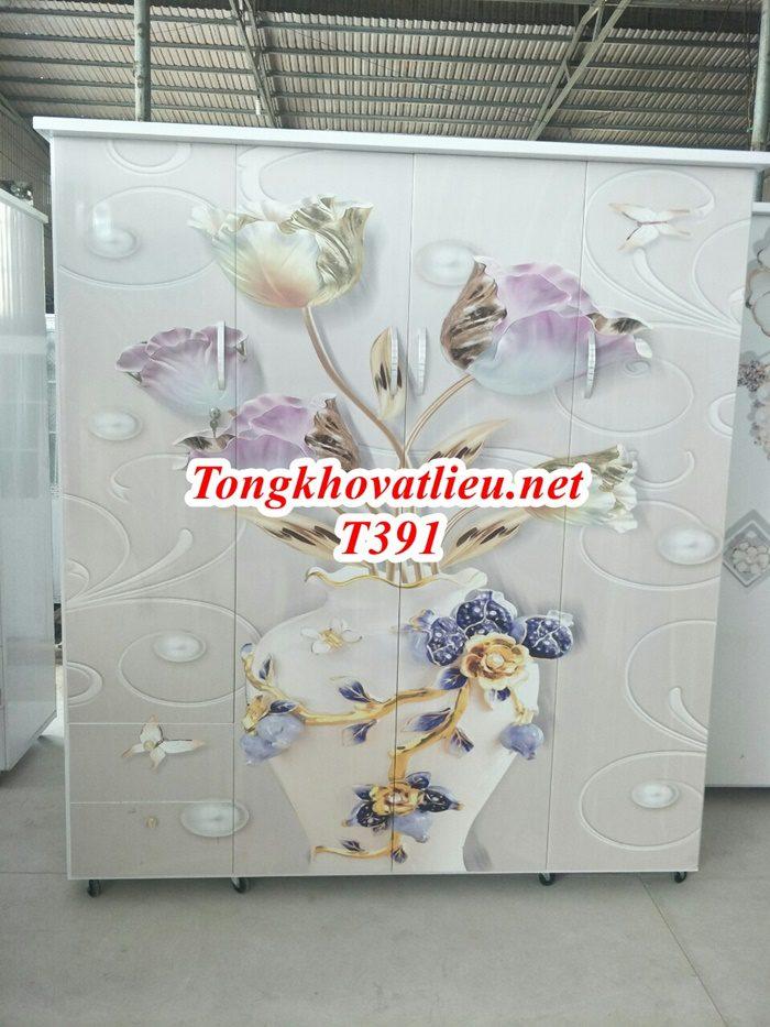 T391 - Tủ Nhựa Đài Loan Cao Cấp| Chống Ẩm Mốc, Mối Mọt| Cơ Sở Sản Xuất Tại Bến Tre