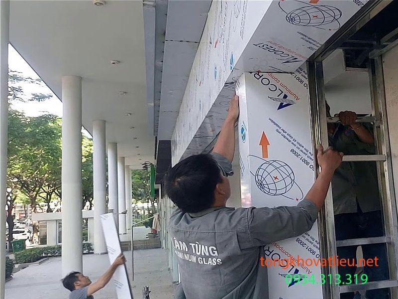 c3 - Tấm Alu | Tấm Nhôm Aluminium Làm bảng hiệu ốp tường vách giá rẻ tại Tphcm