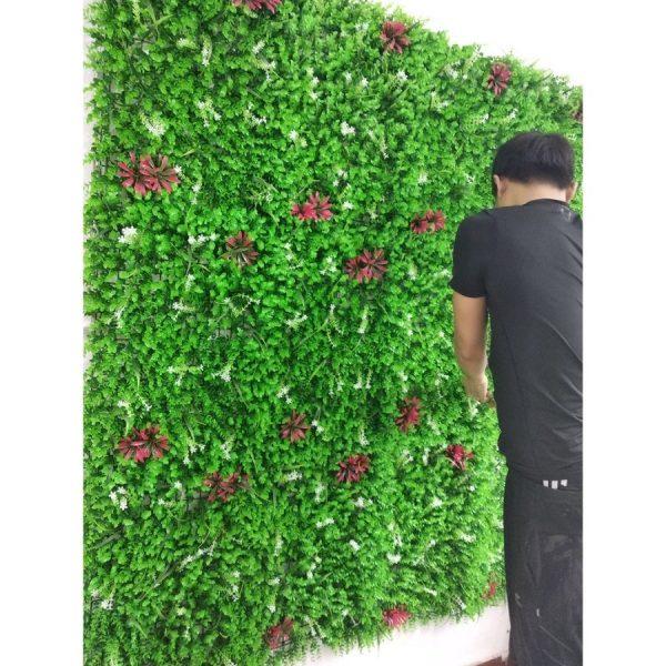 tường chuột hoa2 600x600 - Bảng Giá Thảm Cỏ Nhân Tạo Lót Sàn| Cỏ Sân Vườn Giá Sỉ Lẻ Từ Nhà Máy
